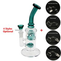 Beracky 8. 5inch Glass Water Bongs Dab Rigs With Beveled Edge...