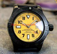 Lüks Klasik Serisi İzle A1733110 | I519 | 152S | A20SS.1 45mm Paslanmaz Çelik Kauçuk Bantları Kayış Otomatik mekanik Mens Watch Saatler