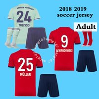 adult kit 18 19 james Bayern Soccer jersey + SOCKS home 2018...