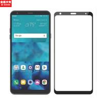 Proteggi schermo in vetro temperato con copertura in seta 2.5D per LG Stylo 4 LS775 K10 2018 Oneplus 7 Nokia X6 X3 X5 X7 Huawei Mate 20 P30 Lit