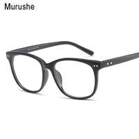 Murushe Retro Rodada Eyewear Claro Óculos Óculos Óptica Armações de Óculos de Olho Óculos Transparentes Quadro Falso 2018