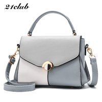 21club brand women casual panelled totes sequined rivet hand...