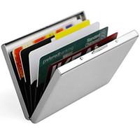 RFID 스테인레스 스틸 신용 카드 케이스 홀더 수호자 금속 케이스