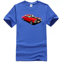 New Black Ford GT Falcon Illustrated T Shirt taglia S -5XL + 7XL Mens manica corta Tees
