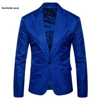 8 couleurs Casual Mode Slim Hommes Un bouton Costume Blazer Manteau Veste Tops