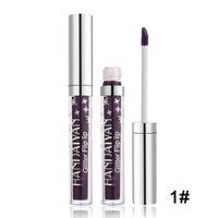 HANDAIYAN Antiaderente Copo Lip Gloss Diamante Brilho Metálico Batom Líquido de Longa Duração Glitter Não-stick Copo Lip Gloss 7 Cores