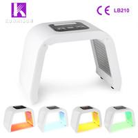 مصنع الجملة أوميغا pdt الفوتون آلة تجديد الجلد 4 ألوان الصمام ضوء العلاج آلة لإزالة ندبة