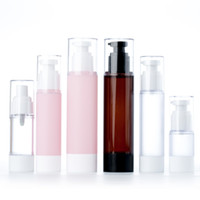15ML 30ML 50ML 100ML Pink Brown Airless Lotion Pump Bottle E...