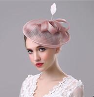Alta qualità dei capelli cappelli fiore sposa per le madri da sposa cappelli di Natale Veils Accessori per capelli Hairbands epoca da sposa Cappelli Testa