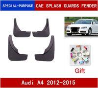 4PCS / مجموعة سيارات عالية الجودة Mudflaps سبلاش الحرس الطين رفرف واقيات الطين الحاجز لأودي A4 (B8) 2012-2015