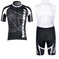 Merida Team Cykling Kortärmad Jersey Bib Shorts Sätter Sommar Mäns bekväma bärbara utomhussporter Jersey 32765