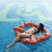 الإبداعي نفخ دائرة الخبز يطفو الصيف شاطئ السباحة الدائري حار بيع السباحة بركة المياه حصيرة للبالغين والأطفال 18xr x