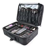 Makeup Brush Bag Case Make Up Organizer Toiletry Bag Storage...