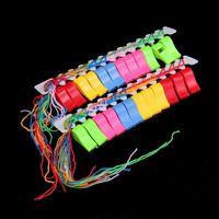 Çocuklar Renkli Plastik Düdük Kelime Fincan Futbol Oyunları Düdük Futbol Futbol Hayranları için Loud Gürültü Maker Amigo Hoparlör