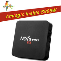 MXQ PRO 4K TV Box da 1 GB 8 GB Android 7.1 Amlogic S905W RK3229 Quad core IPTV Smart Media Box Box Migliore S905W X96 Mini MXQ Pro S905X