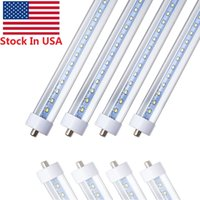 Stock In US + Rotating R17D 8ft led tubes 45W 72W Single Pin...
