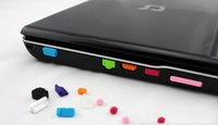 13pcs set Colorful Silicone Anti- Dust plugs Laptop Cover sto...