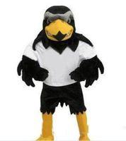 2019 Professionelle maßgeschneiderte Deluxe Plüsch Falcon Maskottchen Kostüm Erwachsene Größe Adler Mascotte Mascota Karnevalsparty Cosply Kostüm