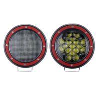 2 stück 5inch 51w OFFROAD LED-Lichtleiste LED-Arbeitslicht-Flut-Strahl-Scheinwerfer für Jeep-Truck-Traktor 4x4 uaz atv suv kamaz scheinwerfer