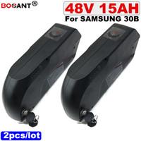 Frete Grátis 2 pçs / lote 48 V 15AH E-moto bateria De Lítio 500 W 1000 W para Original Samsung 30B bicicleta Elétrica bateria 48 V