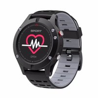 Smart Watch NO.1 F5 Cardiofrequenzimetro Android Impermeabile Wristband GPS Sport Smartwatch Sport Dispositivi indossabili