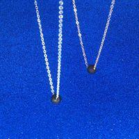 Lavagestein Halskette Naturstein-Korn-Ätherisches Öl-Diffusor Halsketten-Anhänger Halsreifen Goldketten Arbeiten Sie Schmucksachen für Frauen Tropfenschiff