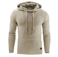 Hoodies Men Male Long Sleeve Solid Color Hooded Sweatshirt Mens Hoodie Tracksuit Sweat Coat Casual Sportswear S-4XL