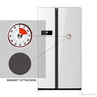 Tempories magnétiques rouges Temps de trompette Compte à rebours mécanique Outil de cuisine en acier inoxydable Temps de cuisson Alarme 25TC DD