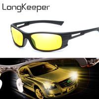 나이트 비전 선글라스 남자 여자 옐로우 렌즈 자동차 운전자의 썬 안경 아이웨어 UV 프로텍션 Unisex 고글 Glass Gafas De Sol