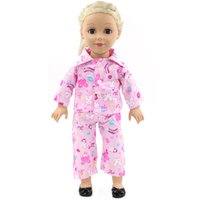 American Girl Dolls Pajamas Doll accessories Princess Doll Clothes Fit 18 inches Clothes Baby Birthday Christmas Gift MG-023