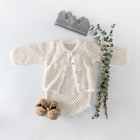 INS baby clothing romper sets infant girl boy knitted romper...
