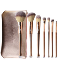 ZOREYA Fashion 8pcs Mermaid Makeup Brushes Sets Portable Pro...