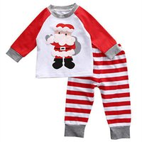 2Pcs Suits Children Clothing Christmas Baby Toddler Kids Dee...