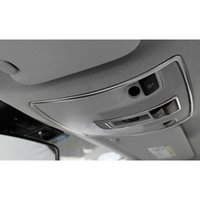 Leitura quadro decoração da lâmpada Car Dome guarnição luz para 2pcs Mercedes Benz GLA X156 CLA C117 A / aço inoxidável classe B