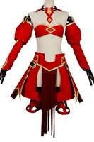 Fate Apocrypha FA Rotschwert Mordred Cosplay Kostüm Casual Dress Battle Suit