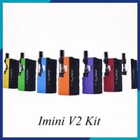 Imini V2 키트 650mAh 예열 배터리 업그레이드 상자 Mod 0.5ml 1.0 ml Imini I1 두꺼운 오일 용 탱크 기화기 0268100-2