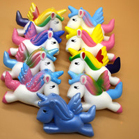 Squishies Slow Rising Jumbo Kawaii Cute Colored Unicorn Crea...