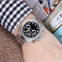 40mm relogio masculino mens watches Luxury wist fashion Blac...