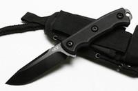 ZT НЕТЕРПИМ ZT0180 9CR18MOV лезвие G10 ручкой прямой охотничий Походный нож подарка Xmas ножи для человека 1шт ADCU