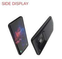 삼성 S9 플러스 5200mAh LLFA에 대한 2018 전원 은행 휴대용 충전기 전화 커버 블랙, 블루 골드 컬러 충전기 케이스