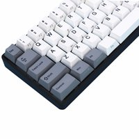 Gray white PBT Filco Minila Air PBT 67 Keys Dye sublimated p...