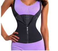 Adjustable Shoulder Strap Waist Trainer Vest Corset Women Zi...