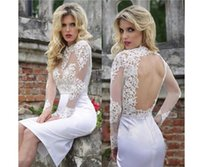 Lace Applique Homecoming Dress Cute White Short Prom Dress S...
