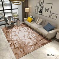 Teppich Teppich Moderne Sammlung Wohnzimmer Flur Instagram Nordeuropa Große  Größe Marmorierung Wasserfarbe Braun, Grün