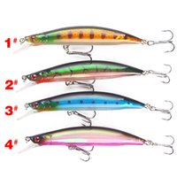 New Long Lips Designer Fishing Lure 13g 110mm Minnow Pencil Laser Swimbaits бас Bait Wobbler Crankbaits
