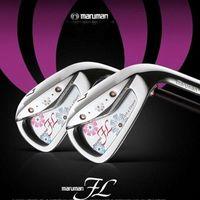 New womens Golf clubs MARUMAN FL irons clubs 5-9 PAS Golf irons Graphite Golf shaft R or S flex Freeshipping