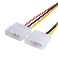 2 IDE Dual 4 pin IDE Maschio a 6 Pin 6 pin Femmina PCI-E Y IDE Cavo adattatore Connettore per schede video 4P TO 6P 1X2 Splitter
