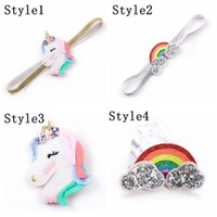 2018 Newest Unicorn Headband Baby Girls Cartoon Rainbow Hair...