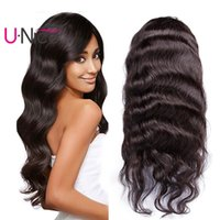 UNice Lace Front Wigs Brazilian Body Wave Human Hair Wigs fo...