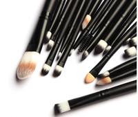 Профессиональный набор кистей для макияжа 20PCS / Set Макияж Tools Kit Бровь Brush Foundation Powder Косметический инструмент красоты